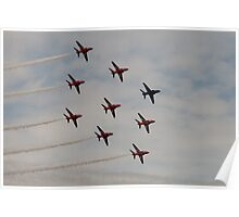 Red Arrows # 11 Poster