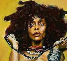 Erykah Badu by Monifa