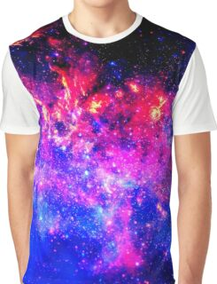 Violet Galaxy Graphic T-Shirt