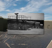Looking into the Past, Fort Casey 10-inch Gun by Jim Adams