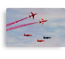 Red Arrows # 17 Canvas Print