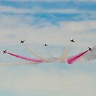 Red Arrows # 18 by Dale Rockell