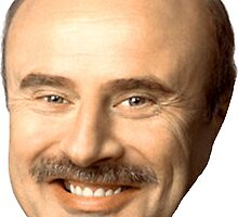 dr phil's face, beautiful  by gaybagel