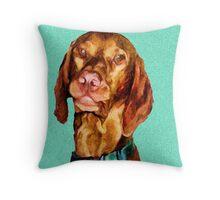 Milo 'Doggy Lips' Maxwell Throw Pillow