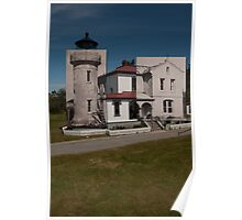Looking into the Past: 1955-2010: Admiralty Head Lighthouse Poster