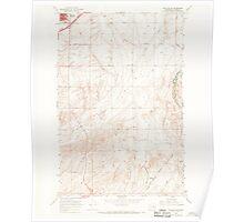 USGS Topo Map Washington State WA Ritzville SE 243467 1967 24000 Poster