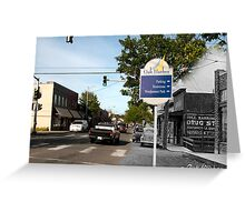 Looking into the Past: 1940-2010 Oak Harbor, WA Greeting Card