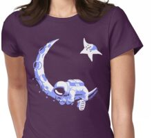 Moonstuck - Alternate Universe on Purple Womens Fitted T-Shirt
