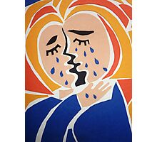Weeping Woman Photographic Print
