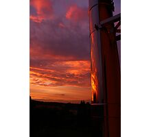 Evening Sky Reflections Photographic Print