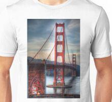 Golden Gate Bridge Noir Unisex T-Shirt