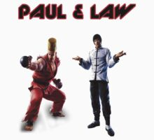 Tekken Tag Tournament 2 Paul & Forest Law by caocaoism