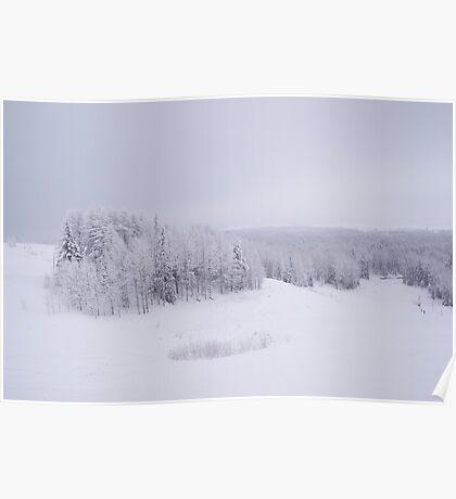 Winter in Golubino Poster
