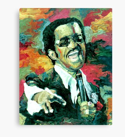 Sammy Davis Jr  Canvas Print