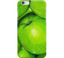 Green Apples in Colour Pencil iPhone Case/Skin