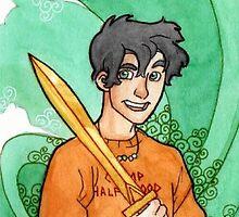 Percy Jackson.  by Obaith13