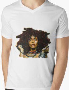 Erykah Badu Mens V-Neck T-Shirt