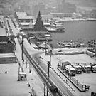Snowy Day , Hakodate Bay , Hokkaido - Japan by sxhuang818