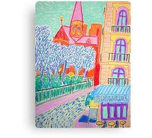 Brasserie Canvas Print