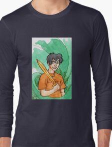 Percy Jackson.  Long Sleeve T-Shirt
