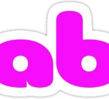 Babe T-Shirt - Baby Girl - Onesie Jumpsuit Sticker
