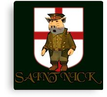 Saint Nick Canvas Print