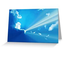 Daybreak on Planet Earth Greeting Card