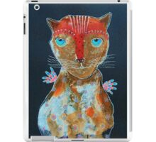 Cat With Green Blue Eyes iPad Case/Skin