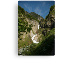 From high in the mountains Canvas Print