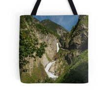 From high in the mountains Tote Bag
