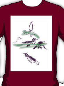Penguins swimming T-Shirt