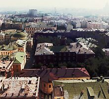 forbidden view over Moscow by NafetsNuarb