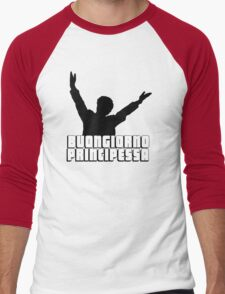 Buongiorno Principessa Men's Baseball ¾ T-Shirt