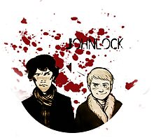 Bloody Johnlock by MiseryHunting
