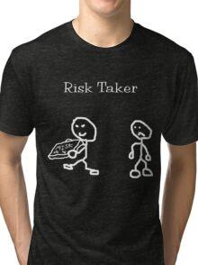 Risk Taker (Original stick figure version) Tri-blend T-Shirt