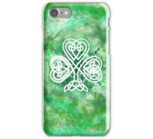 Celtic Luck iPhone Case/Skin