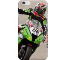 TOM SYKES at Miller Motorsports park 2012 iPhone Case/Skin