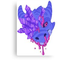 Pixel Dragon Canvas Print