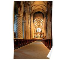 The Nave of Durham Cathedral Poster