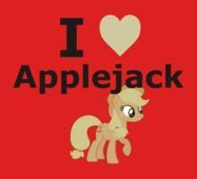 I Heart Applejack by mikeAguy1