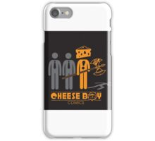 Cheese Boy with Axe iPhone Case/Skin