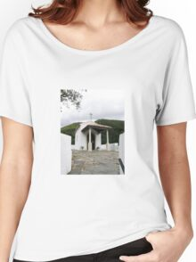 The temple and the mountain Women's Relaxed Fit T-Shirt
