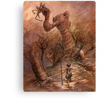 The Angry Hill  Canvas Print