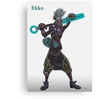 The time machine Ekko V2 jpeg version Canvas Print