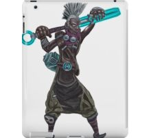 The time machine Ekko V2 jpeg version iPad Case/Skin
