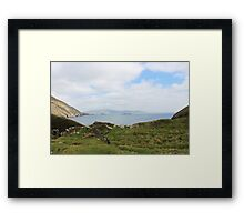 View from the Cliff Framed Print