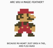 Super Mario Pick Up Line by hallokittehxx