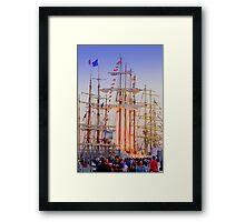 Tall Ships Lisbon 2012 Framed Print
