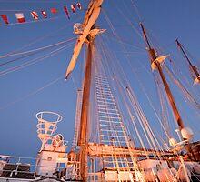 JS DE ELCANO . Spanish Tall Ship. Lisbon by terezadelpilar~ art & architecture