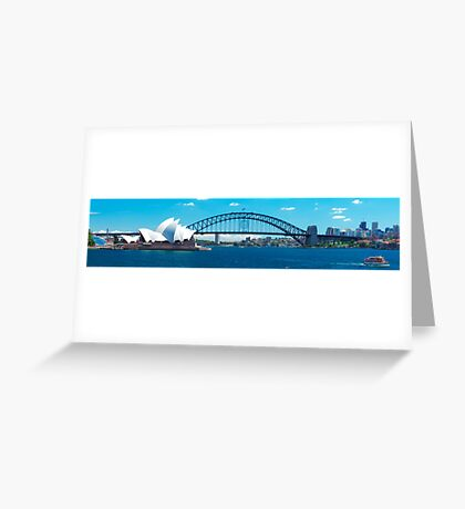 Journey on the Harbour Greeting Card